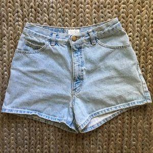 Vintage Moda Int'l The London Jean High Rise Short